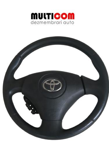 Volan cu airbag si comenzi Toyota Corola 2005