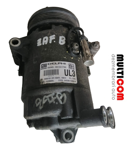 Compresor clima Opel Zafira B cod 401351739
